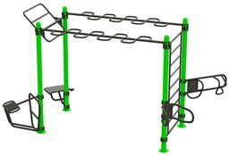 Bild von Calisthenics Outdoor Functional Training Station for up To 10 Users 30-01076