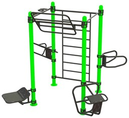 Bild von Outdoor Functional Training Station for up To 8 Users 30-01075